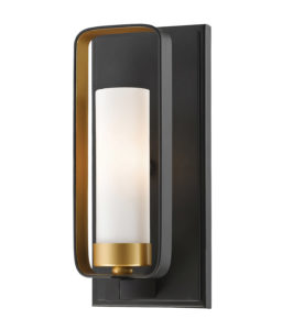 Wall Sconce Lighting Transitional AIDEEN Z-Lite 6000-1S-BZGD