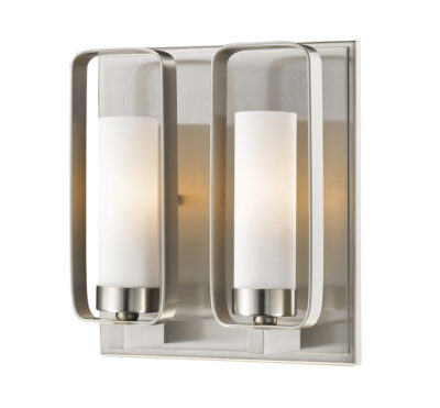 Wall Sconce Lighting Transitional AIDEEN Z-Lite 6000-2S-BN