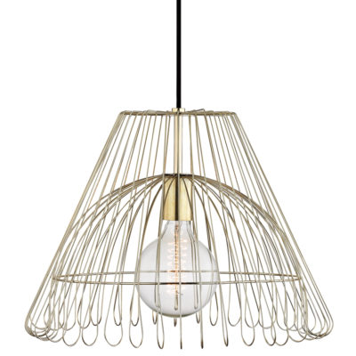 Pendant Lighting Modern KATIE Hudson Valley H180701L-PB