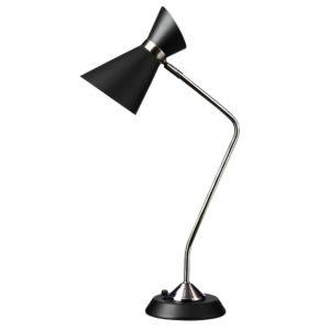 Table Lamp vintage Dainolite 1679-BK-PC