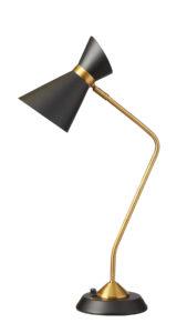 Table Lamp vintage Dainolite 1679T-BK-VB
