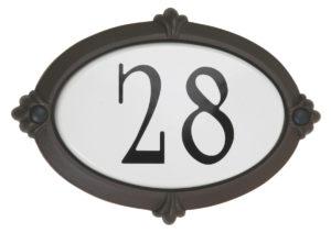 Address Plate classic Snoc 1723-4-5-7-8-18-37-43
