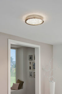 Flush Mount Lighting Modern AREZZO Eglo 32047A in the house lobby