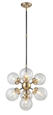 Pendant Lighting Transitional PARIS Signature M & M 3527