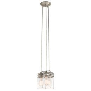 Pendant Lighting Industrial rustic Industrial rustic BRINLEY Kichler Kichler 42869ni