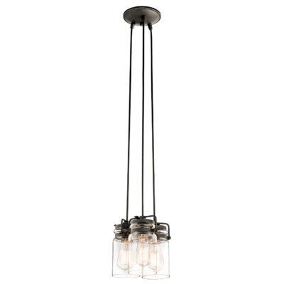 Pendant Lighting Industrial rustic BRINLEY Kichler 42869oz