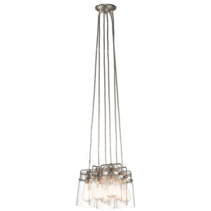 Pendant Lighting Industrial rustic BRINLEY Kichler 42877ni