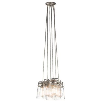 Pendant Lighting Industrial rustic BRINLEY Kichler 42877ni