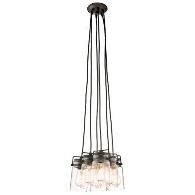 Pendant Lighting Industrial rustic BRINLEY Kichler 42877oz