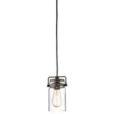 Pendant Lighting Industrial rustic BRINLEY Kichler 42878oz