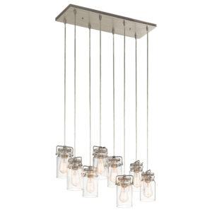 Pendant Lighting Industrial rustic BRINLEY Kichler 42890ni