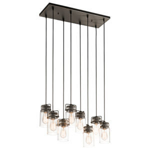 Pendant Lighting Industrial rustic BRINLEY Kichler 42890oz
