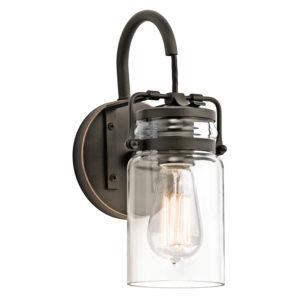 Wall Sconce Lighting Industrial rustic BRINLEY Kichler 45576oz