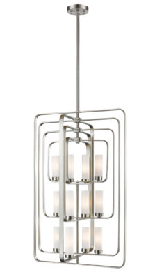 Pendant Lighting Transitional AIDEEN Z-Lite 6000-12-BN