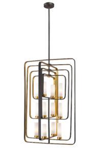 Pendant Lighting Transitional AIDEEN Z-Lite6000-12-BZGD