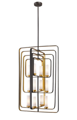 Pendant Lighting Transitional AIDEEN Z-Lite6000-12-BZGD