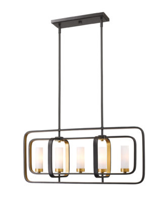 Pendant Lighting Transitional AIDEEN Z-Lite 6000-5L-BZGD