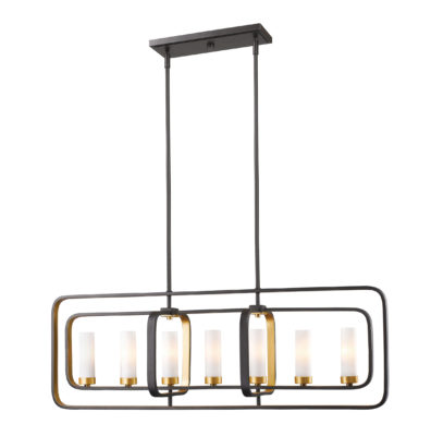 Pendant Lighting Transitional AIDEEN Z-Lite 6000-7L-BZGD