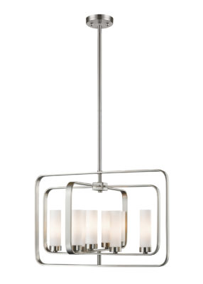 Pendant Lighting Transitional AIDEEN Z-Lite 6000-8A-BN