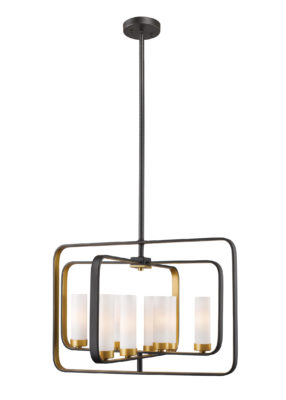 Pendant Lighting Transitional AIDEEN Z-Lite 6000-8A-BZGD