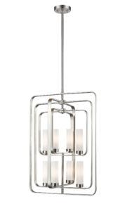 Pendant Lighting Transitional AIDEEN Z-Lite 6000-8B-BN