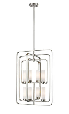 Pendant Lighting Transitional AIDEEN Z-Lite 6000-8B-BN