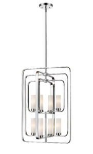 Pendant Lighting Transitional AIDEEN Z-Lite 6000-8B-CH