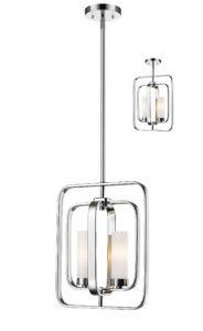 Pendant flush mount Lighting Transitional AIDEEN Z-Lite 6000MP-CH
