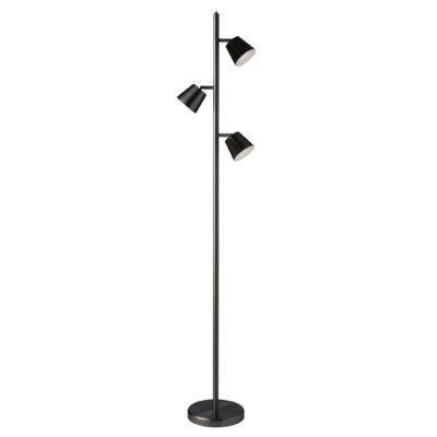 Floor Lamp Modern Dainolite 625LEDF-BK