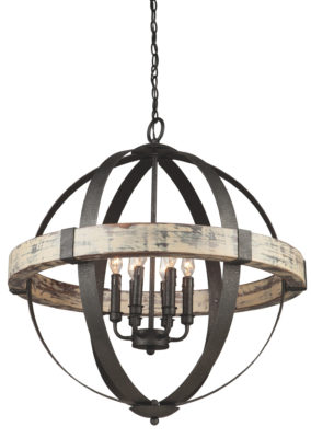Pendant Lighting rustic CASTELLO Artcraft AC10015