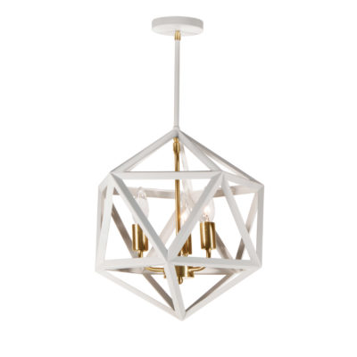 Pendant Lighting Transitional ARCHELLO Dainolite ARC-143C-WH-VB