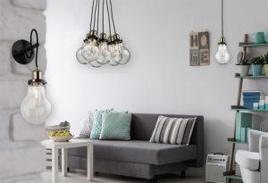 Pendant Lighting  Modern EDISON VINTAGE Artcraft AC10488 in the living room