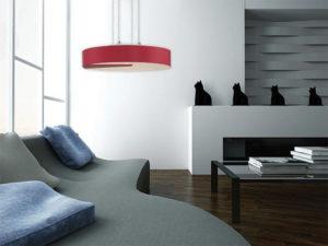 Pendant Lighting Modern NAVA Creation Nova CN8300-WHT in a modern living room