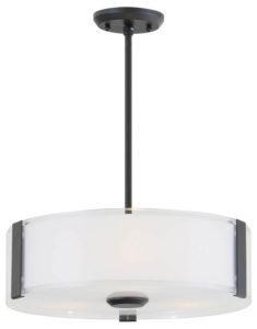 Pendant Lighting Contemporary ZURICH Dvi DVP14506GR-SS-OP