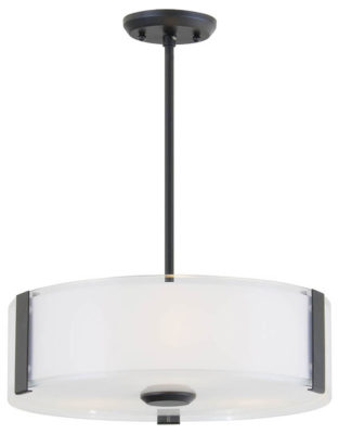 Pendant Lighting Contemporary ZURICH Dvi DVP14506GR-SS-OP