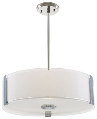 Pendant Lighting Contemporary ZURICH Dvi DVP14506SN-SS-OP