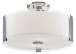 Flush Mount Lighting Contemporary ZURICH Dvi DVP14511CH-SS-OP