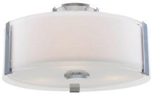 Flush Mount Lighting Contemporary ZURICH Dvi DVP14532CH-SS-OP