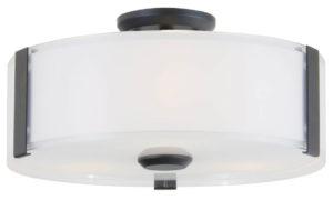 Flush Mount Lighting Contemporary ZURICH Dvi DVP14532GR-SS-OP