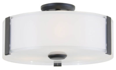 Flush Mount Lighting Contemporary ZURICH Dvi DVP14532GR-SS-OP