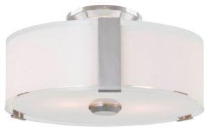 Flush Mount Lighting Contemporary ZURICH Dvi DVP14532SN-SS-OP