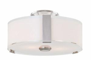 Flush Mount Lighting Contemporary ZURICH Dvi DVP14592SN-SS-OP