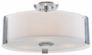 Flush Mount Lighting Contemporary ZURICH Dvi DVP14594CH-SS-OP
