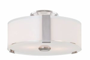 Flush Mount Lighting Contemporary ZURICH Dvi DVP14594SN-SS-OP