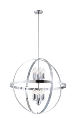 Pendant Lighting Contemporary COMPASS Dvi DVP18150GR-CH