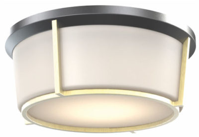 Flush Mount Lighting Transitional JARVIS Dvi DVP21938BK-SG-OP