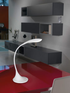 Table Lamp Modern DAMBERA Eglo 94674A on a red table