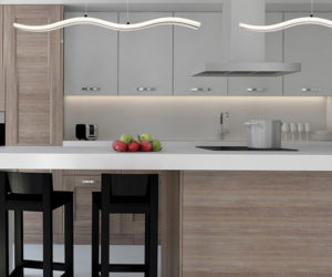 Pendant Lighting HIGH TIDE 31806-015 over a kitchen island