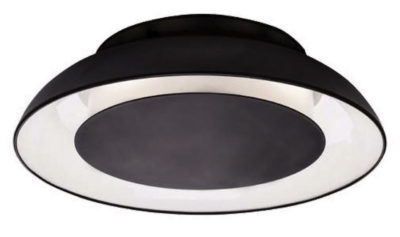 Flush Mount Lighting ECLIPSE Kuzco fm13016-bk