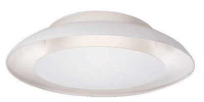 Flush Mount Lighting ECLIPSE Kuzco fm13016-wh